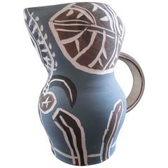 Pablo Picasso Madoura Collection Earthenware Pitcher
