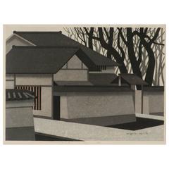 Japanese Woodblock Print by Kiyoshi Saito
