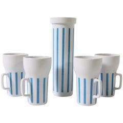 Set of Four Mugs and Tumbler by Lagardo Tackett