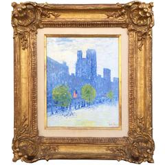 """""""New York City"""" by Frederick Childe Hassam"""