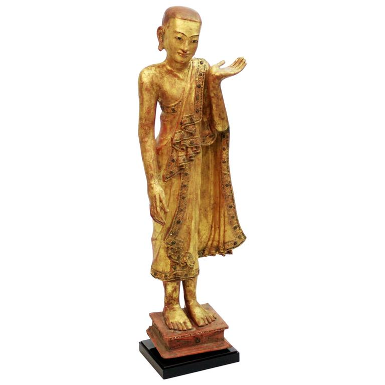 Wooden Burmese Apostle