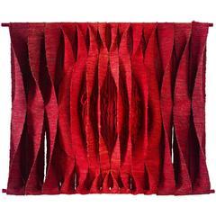 Maria Tapta Large Textile Wall Sculpture