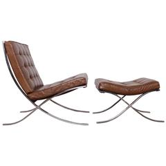 Fabricius and kastholm grasshopper chaise longue at 1stdibs for Chaise barcelona knoll prix