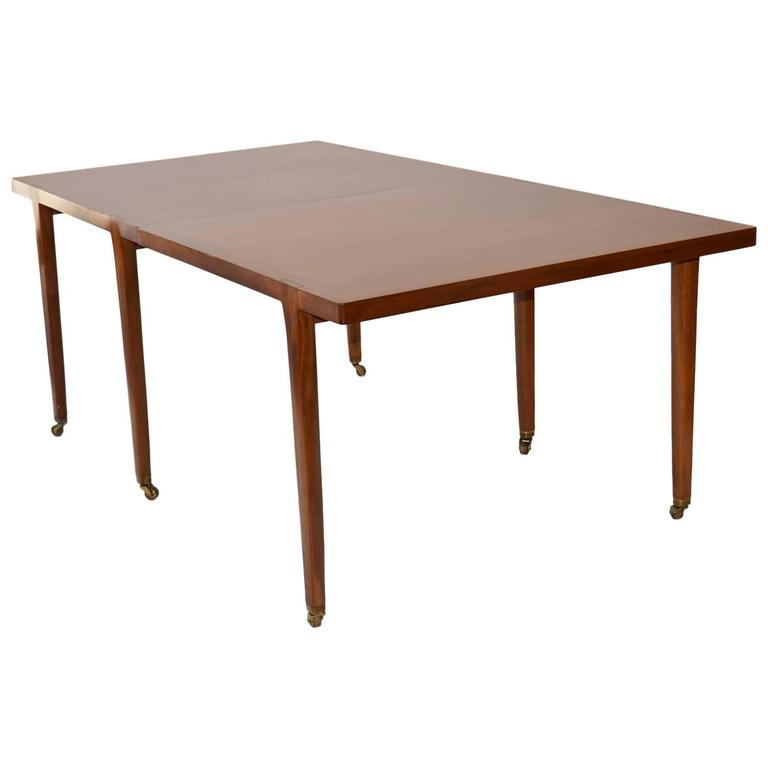 Extension Dining or Conference Table by Edward Wormley for Dunbar Furniture