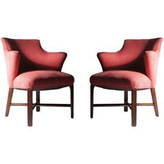 Pair of Syrie Maugham Armchairs