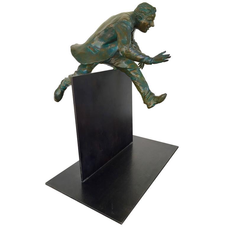 """""""Plan B"""" Bronze Sculpture by Jim Rennert"""