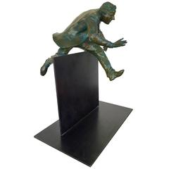 """Plan B"" Bronze Sculpture by Jim Rennert"