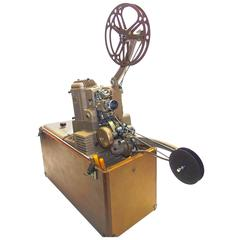 Ampro Cinema Projector, 1948, as Sculpture and Working, Vintage, Display, Iconic