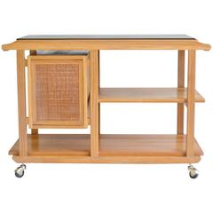 Mid-Century Bar Cart or Sideboard by Edward Wormley