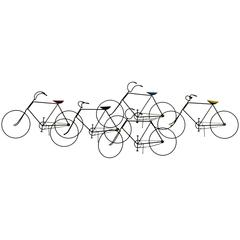 Curtis Jere Bicycles Sculpture