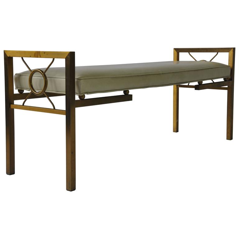 Decorative brass bench at 1stdibs Decorative benches