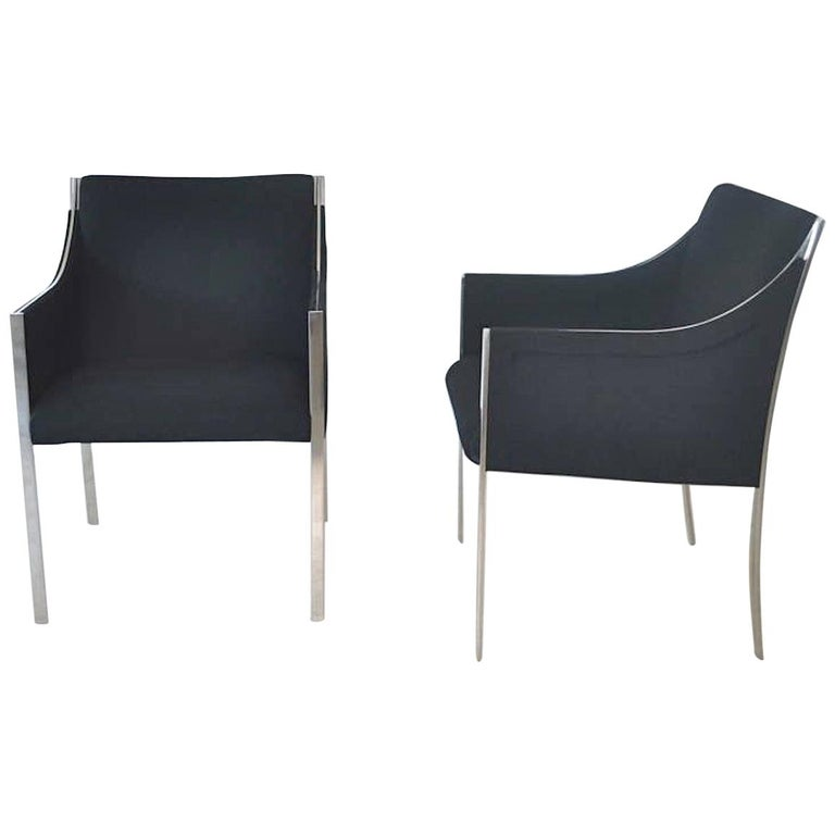Pair of Midcentury Occasional Chairs or Lounge Chairs by Jens Risom For Sale