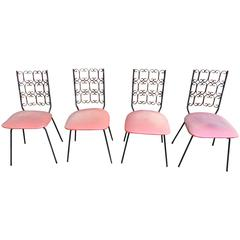 Set of Four Arthur Umanoff Granada Chairs