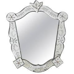 Mid-Century Medium Size Venetian Mirror