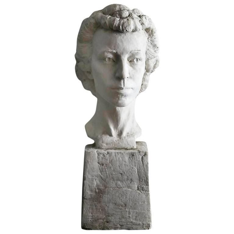 Plaster Busts - 170 For Sale at 1stDibs