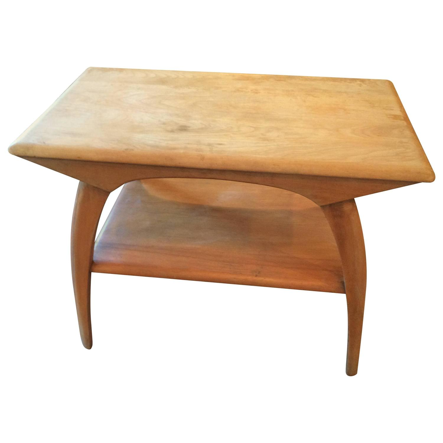 Heywood wakefield side or end table at 1stdibs geotapseo Image collections