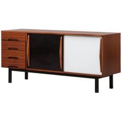 Charlotte Perriand Sideboard in Mahogany 'd'