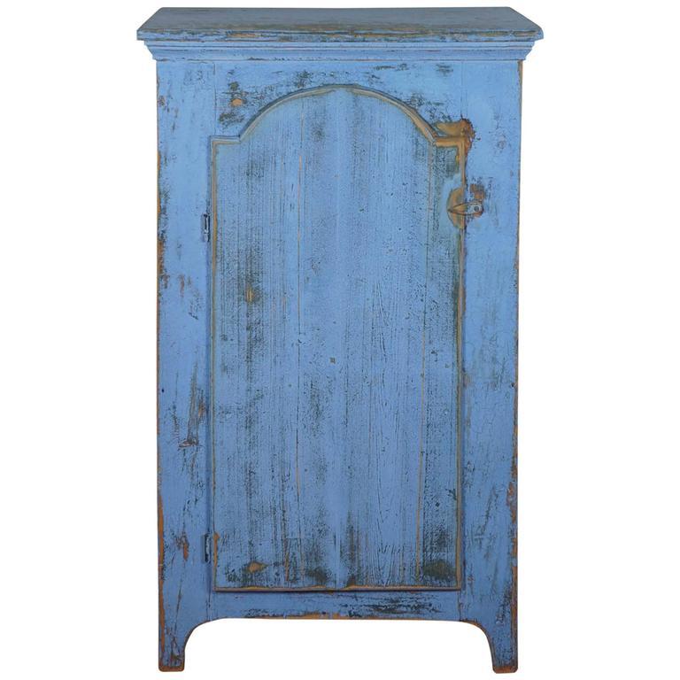 One Door Painted Cupboard