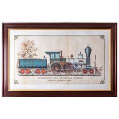 19th Century Train Print
