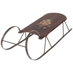 19th Century Petite Childs Sled