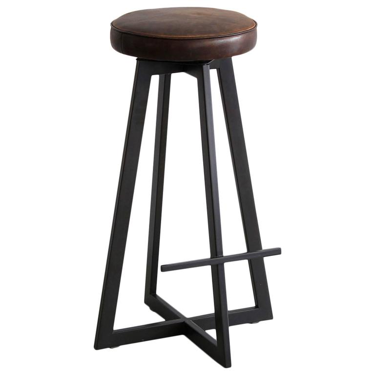 """Iron """"T"""" Barstool For Sale"""