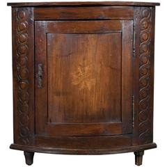 18th Century Country French Encoignure or Corner Cabinet