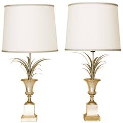 Charles et cie ostrich egg table lamp french 1970s at for Table franco et fils