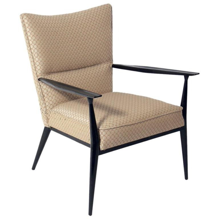 Curvaceous Lounge Chair by Paul McCobb For Sale