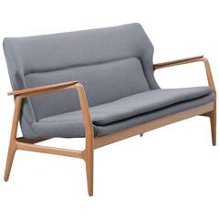 1950s Danish Aksel Bender Madsen Bovenkamp Sofa