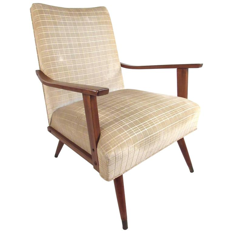 Unique Mid-Century Modern Lounge Chair For Sale At 1stdibs
