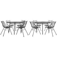 Russell Woodard Sculptura Outdoor/Patio Dining Sets Otagonal Tables Eight Chairs