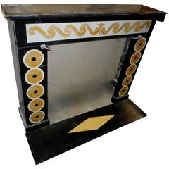 Art Deco Marble Fireplace