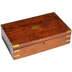 19th Century Officer's Campaign Work Box