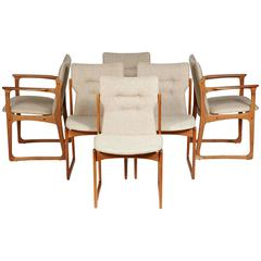 Danish Teak Dining Chairs by Vamdrup Stolefabrik, Set of Six