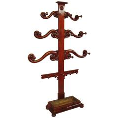George IV Mahogany 'Tree' Hall Stand of Large Proportions