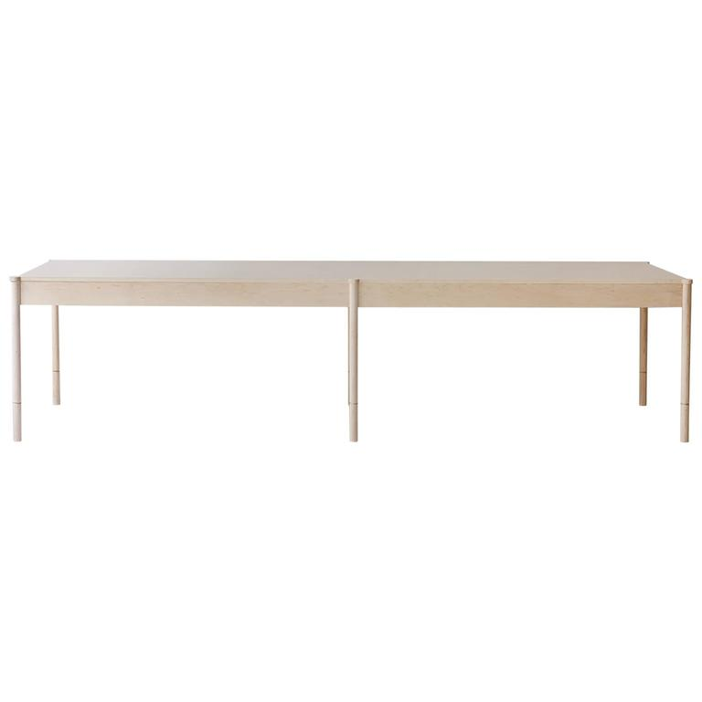 Russell Dining Table, Solid Wood