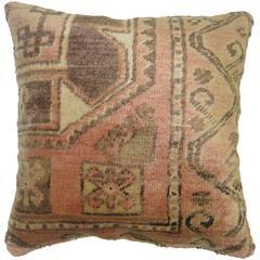 Turkish Anatolian Rug Pillow