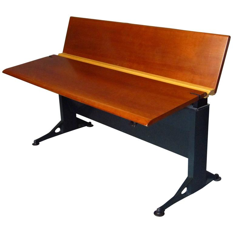 Midcentury Adjustable Desk by Geoff Hollington for Herman Miller