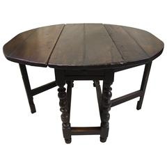 17th Century Gateleg Table