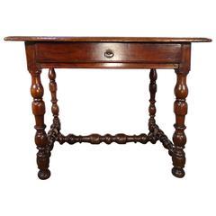 19th Century Italian Antique Tuscan Side Table