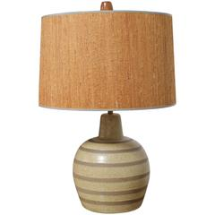 Gordon and Jane Martz Ceramic Table Lamp