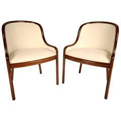 Pair of Original Ward Bennett Hall Chairs