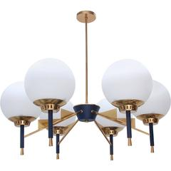 1950s Dining Chandelier from Italy