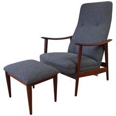 Westnofa Adjustable Lounge Chair and Ottoman
