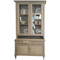 Swedish Vitrine Cabinet, Gustavian Style