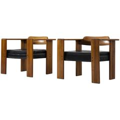 Afra & Tobia Scarpa Set of Two Artona Armchairs