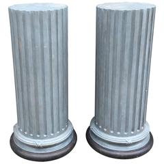 Swedish Columns, One Pair, 19th Century