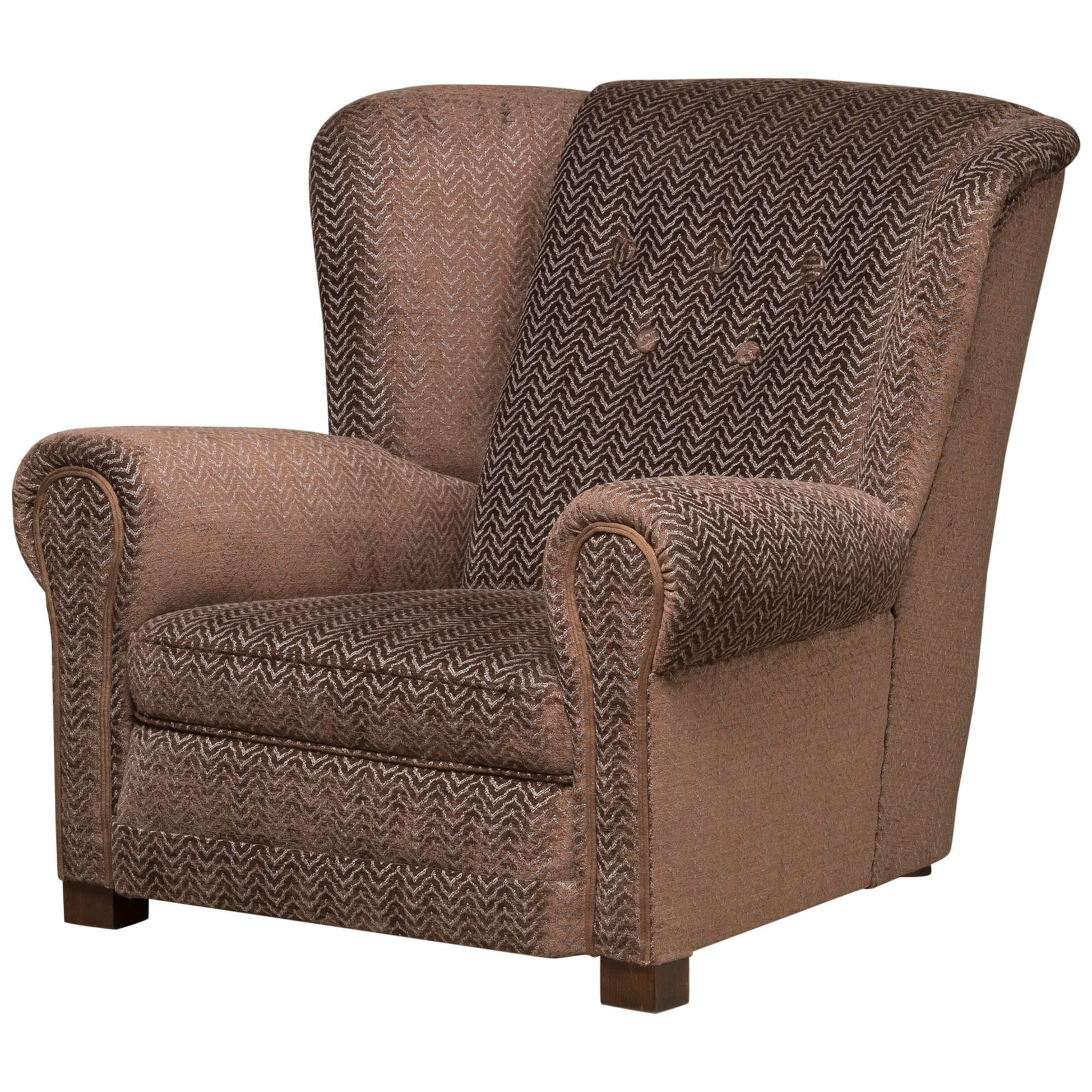 Mid-20th Century Danish 'Easy Chair,'