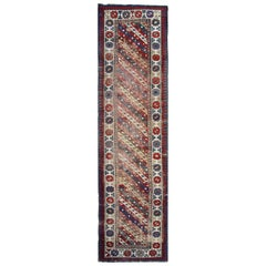 Antique Rugs Caucasian Carpet Runners, Ganjeh Runner Rugs Oriental Carpet
