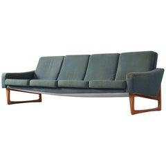 Scandinavian Four-Seat Sofa